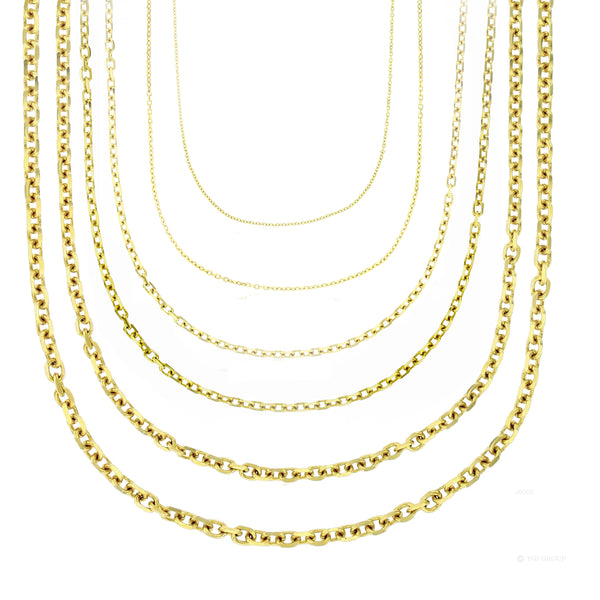 Cable Link Chain (14K)