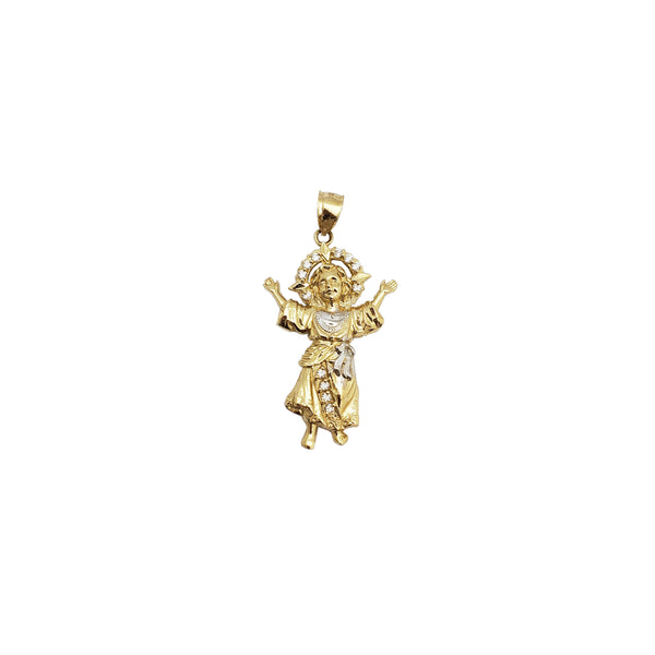 Divine Child CZ Pendant (14K)