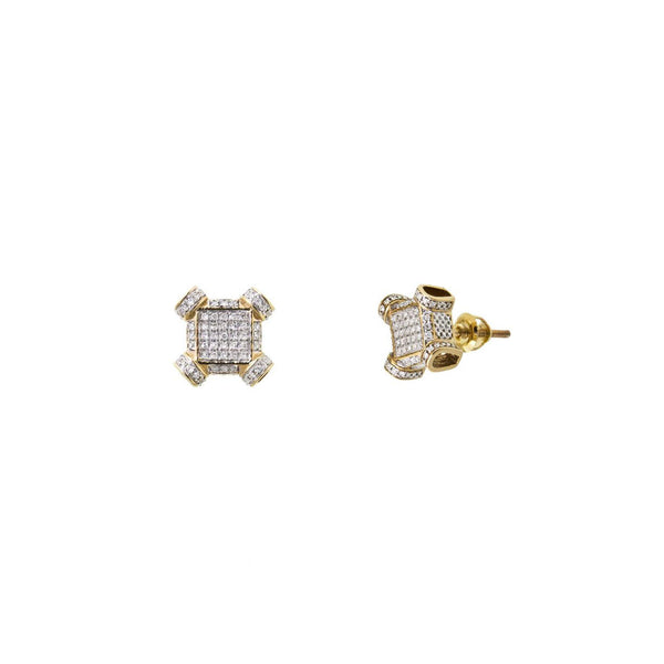 Diamond Stud Earrings (10K)