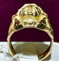 Dragon Head Men's Ring (14K) - Lucky Diamond 恆福珠寶金行 New York City 169 Canal Street 10013 Jewelry store Playboi Charlie Chinatown @luckydiamondny 2124311180