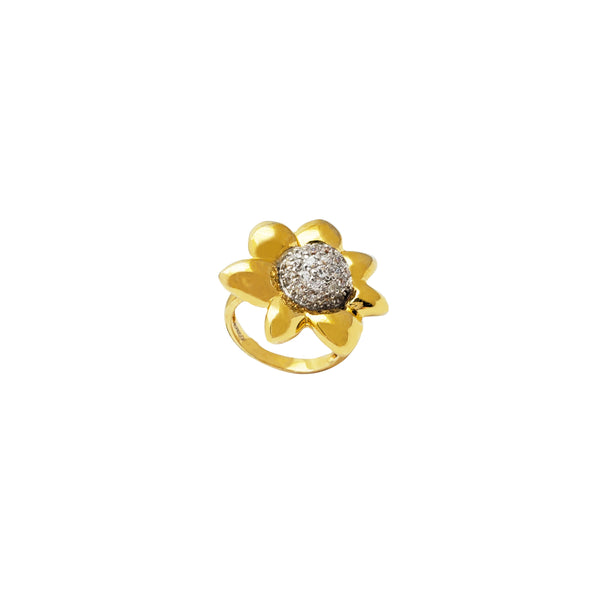 Flower Ring (Silver)