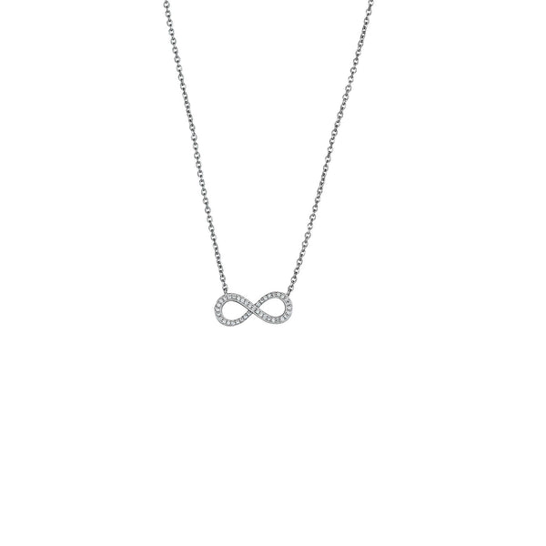 Infinity Necklace (Silver)