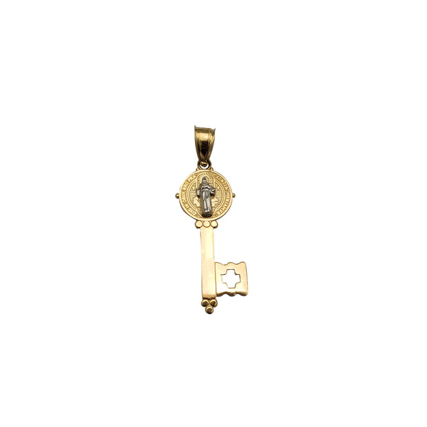 Saint Key Pendant (14K)