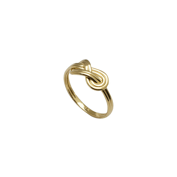Knot Infinity Ring (14K)