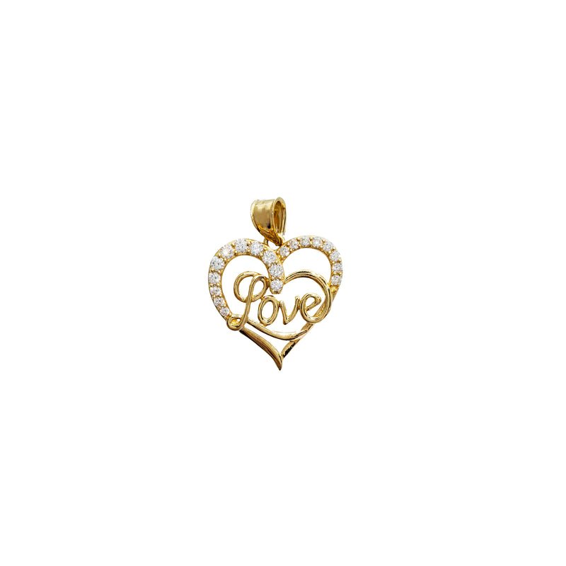 Love Heart Pendant (14K)
