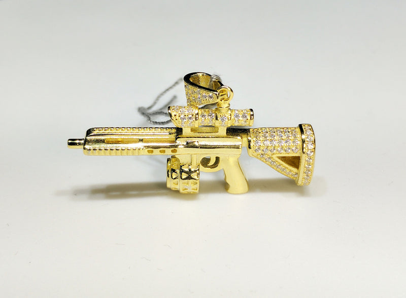Assault Rifle CZ Silver SIG Sauer 556 - Popular Jewelry