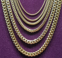 Miami-Cuban Chain Silver (Yellow) - Popular Jewelry