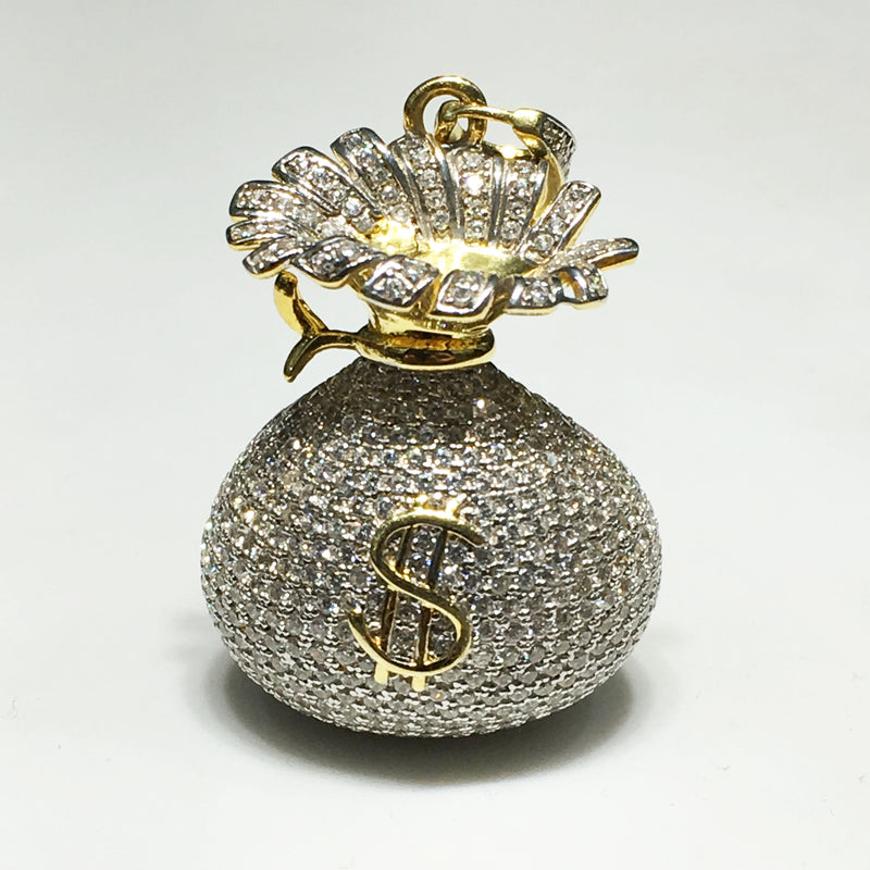 products/money_bag_pendant_sterling_silver_iced_out_cubic_zirconia_cz_dollar_sign_yellow_front.jpeg