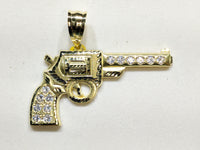 Revolver riipus CZ 10K - Popular Jewelry