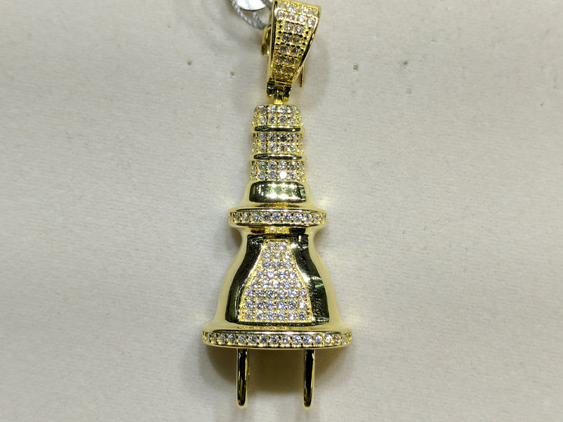 products/plug_pendant_sterling_silver_micropave_pave_cz_cubic_zirconia_zirconium_socket_electric_electrical_yellow.jpg