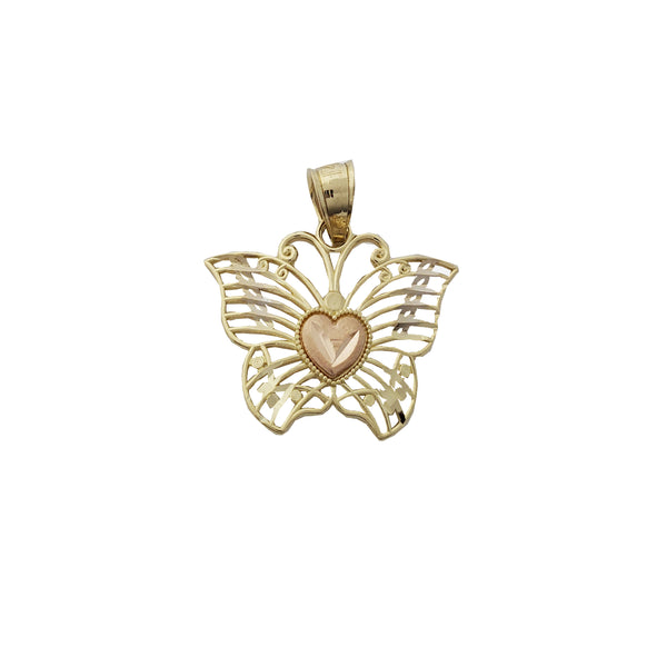 Tricolor butterfly Pendant