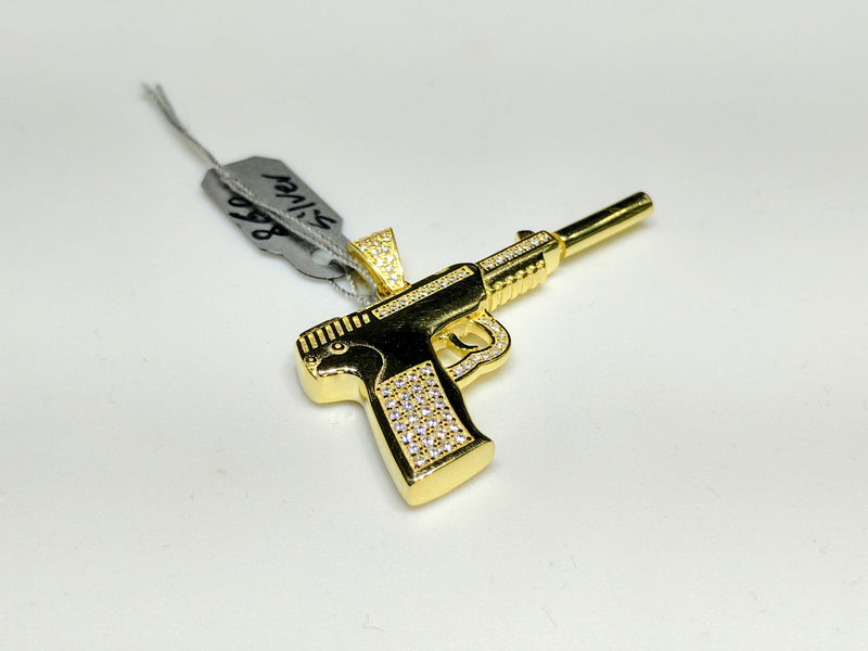 products/semi_automatic_pistol_glock_pendant_suppressor_silencer_iced_out_grip_sterling_silver_yellow_dipped_rhodium_web_compressed_lay_flat_45_view.jpg