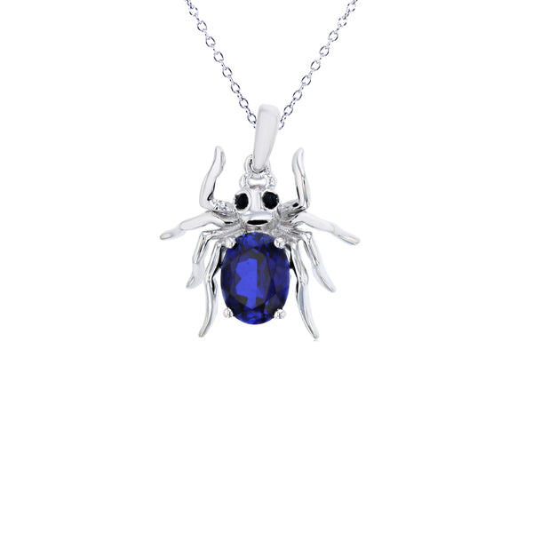 Spider Necklace (Silver)