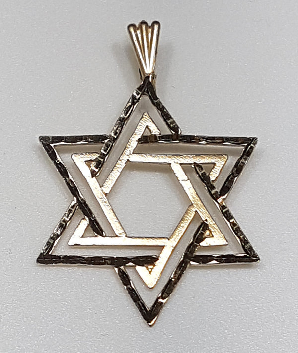 Star of David Hengiskraut 14K - Popular Jewelry