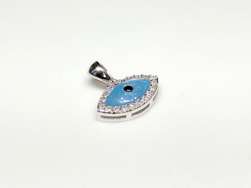 Evil Eye Mini Pendant Silver - Popular Jewelry