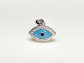Evil Eye (Blue) Mini Pendant Silver