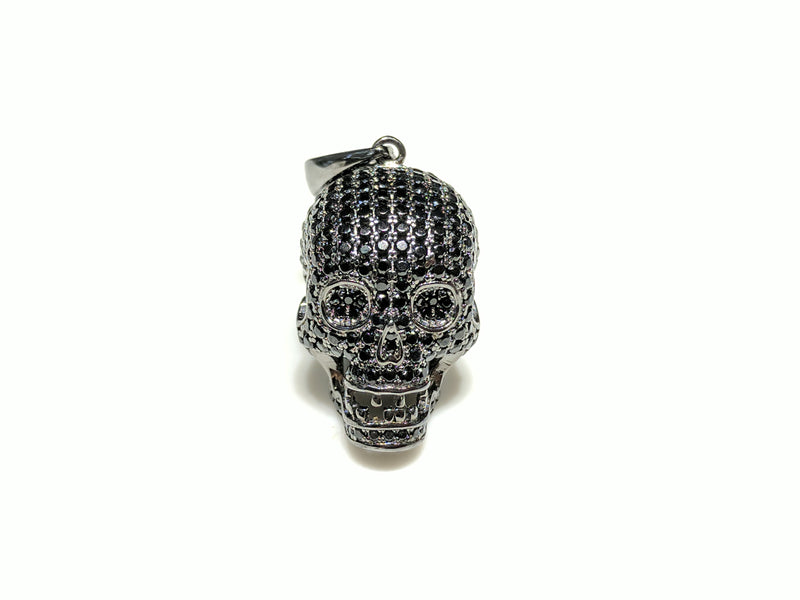 Iced Out Skull Pendant