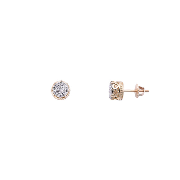 Diamond Stud Earrings (14K)