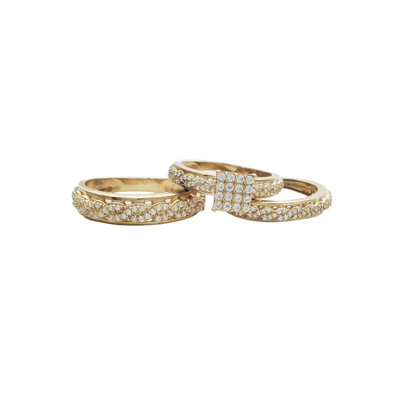 Infinity Three-Piece-Set Ring (10K)