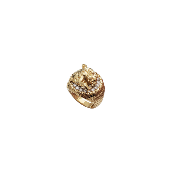 Tiger Man Ring (14K)