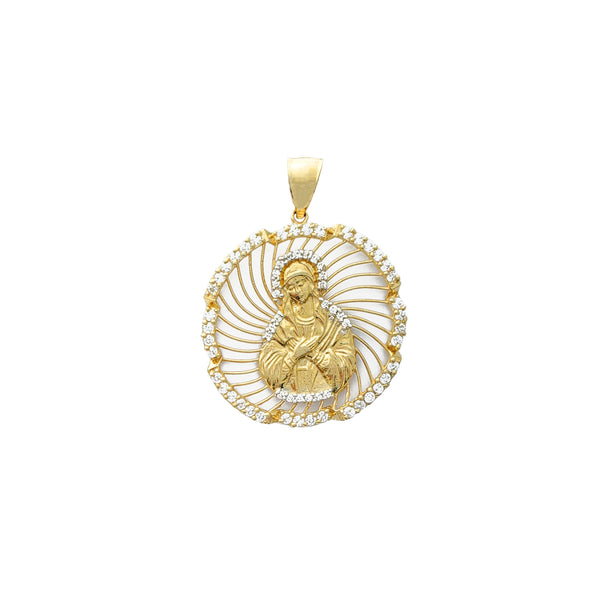 Virgen Mary Pendant (14K)