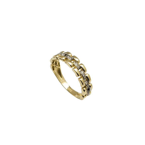 Watch Band Ring (14K)