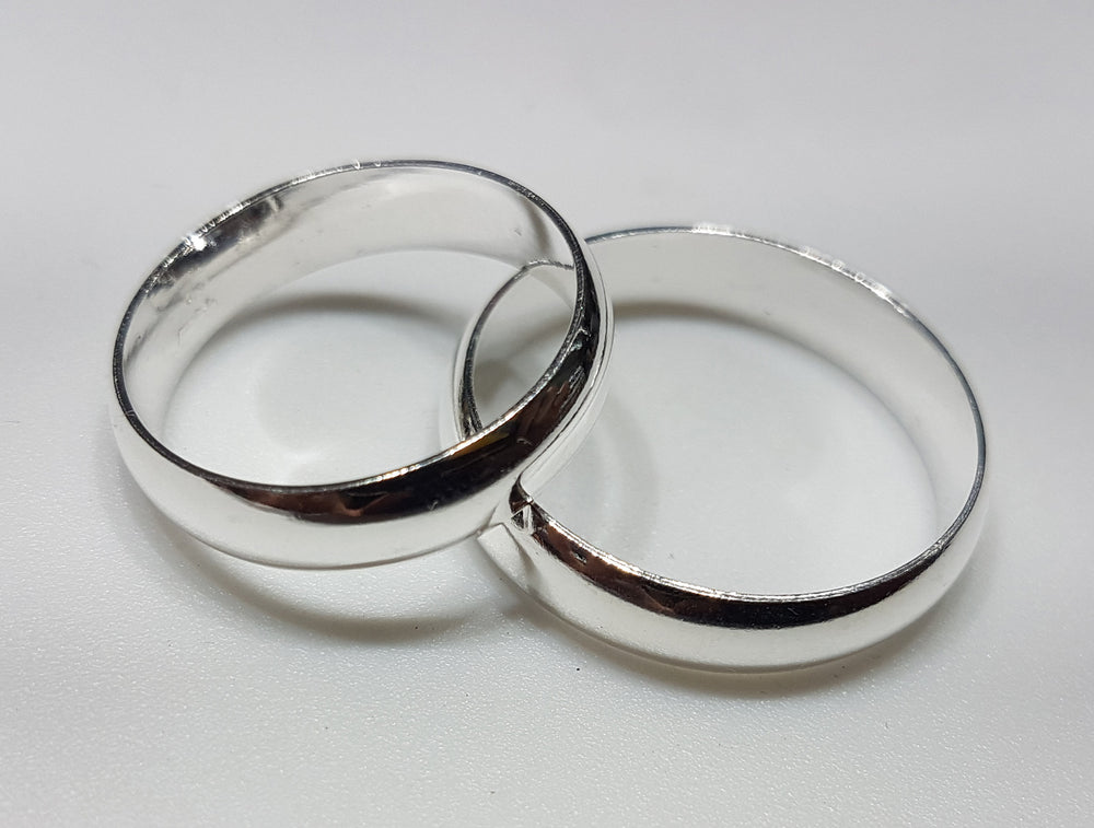 Wedding Band (Silver) - Popular Jewelry