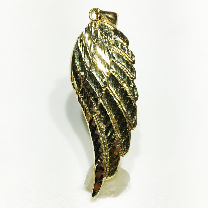 Angel Wing Pendant 14K