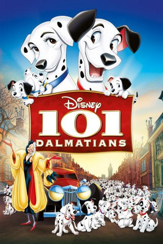 DISNEY 101 DALMATIANS HD DC DIGITAL COPY MOVIE CODE