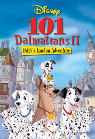 DISNEY 101 DALMATIANS 2 PATCH'S LONDON ADVENTURE SPECIAL EDITION HD DMA DISNEY MOVIES ANYWHERE or HD DC DIGITAL COPY MOVIE CODE