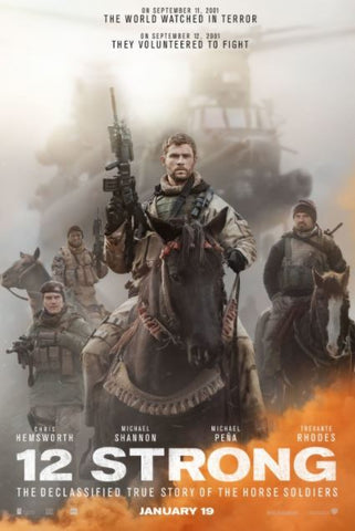 12 STRONG HDX UV ULTRAVIOLET DIGITAL MOVIE CODE