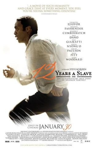 12 YEARS A SLAVE HDX UV ULTRAVIOLET DIGITAL COPY MOVIE CODE