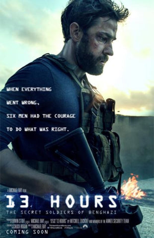 13 HOURS THE SECRET SOLDIERS OF BENGHAZI HD iTunes DIGITAL COPY MOVIE CODE ONLY - USA