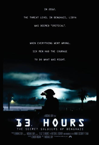 13 HOURS THE SECRET SOLDIERS OF BENGHAZI HDX UV ULTRAVIOLET DIGITAL MOVIE CODE