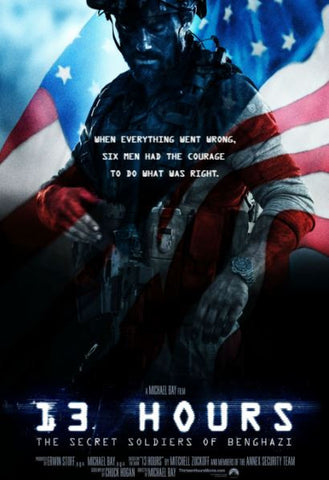 13 HOURS THE SECRET SOLDIERS OF BENGHAZI HD iTunes DIGITAL COPY MOVIE CODE