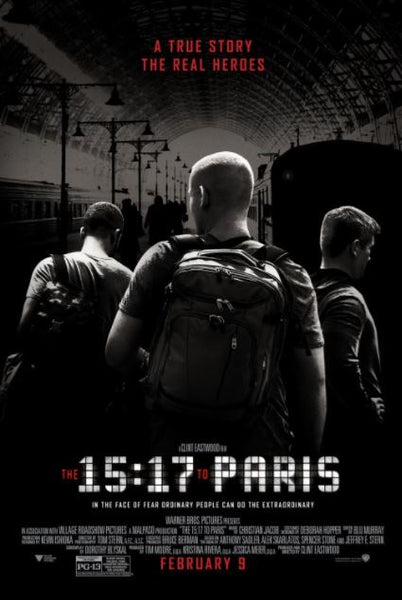 15:17 TO PARIS HDX UV ULTRAVIOLET DIGITAL MOVIE CODE