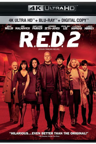 RED 2 4K UHD 4K iTunes DIGITAL COPY MOVIE CODE