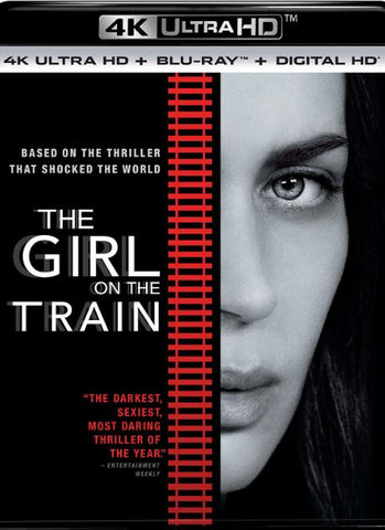 THE GIRL ON THE TRAIN 4K UHD 4K iTunes DIGITAL COPY MOVIE CODE