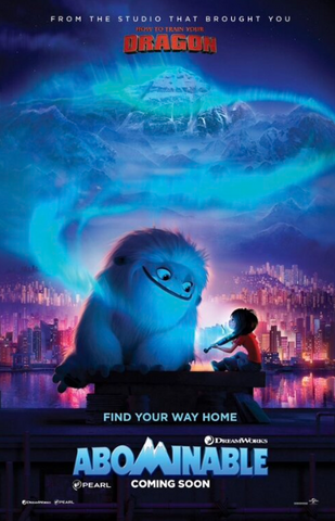 ABOMINABLE HD GOOGLE PLAY DIGITAL COPY MOVIE CODE (DIRECT INTO GOOGLE PLAY) CANADA
