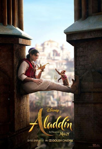 ALADDIN (2019) DISNEY HD GOOGLE PLAY DIGITAL COPY MOVIE CODE w 0 DMR POINTS (DIRECT INTO GOOGLE PLAY) USA CANADA