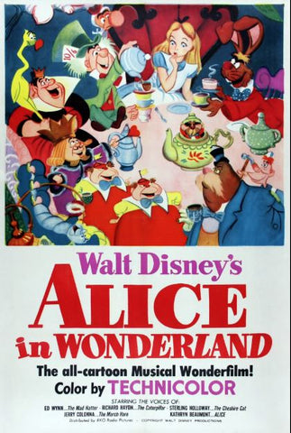 ALICE IN WONDERLAND DISNEY HD MA or HD DC DIGITAL COPY MOVIE CODE