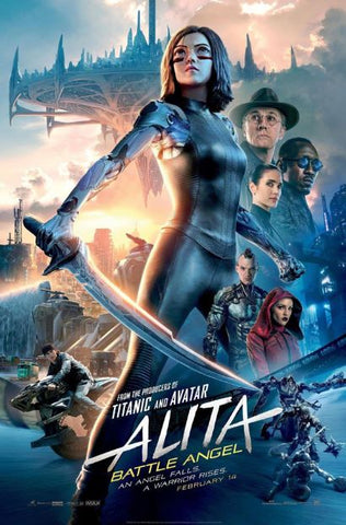 ALITA BATTLE ANGEL HD GOOGLE PLAY DIGITAL COPY MOVIE CODE