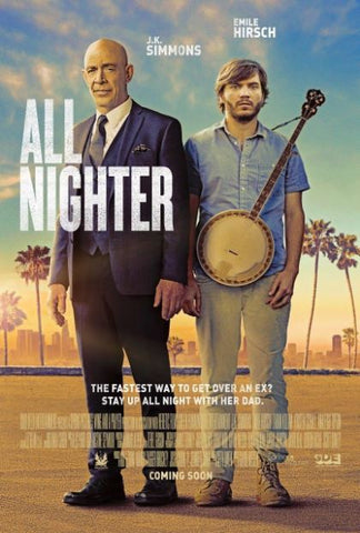 ALL NIGHTER MA VUDU GP DIGITAL COPY MOVIE CODE