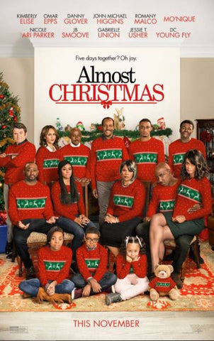 ALMOST CHRISTMAS HD iTunes DIGITAL COPY MOVIE CODE ONLY (DIRECT INTO ITUNES) USA