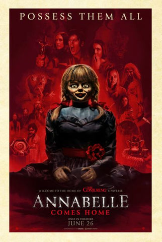 ANNABELLE COMES HOME HDX (USA) MOVIES ANYWHERE / (CANADA) GOOGLE PLAY DIGITAL COPY MOVIE CODE