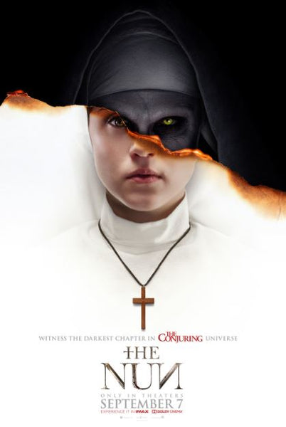THE NUN HDX UV ULTRAVIOLET DIGITAL MOVIE CODE