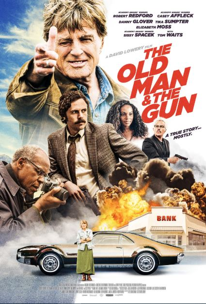 OLD MAN AND THE GUN (THE) HDX UV, GOOGLE PLAY DIGITAL COPY MOVIE CODE (READ  DESCRIPTION FOR REDEMPTION SITE) USA