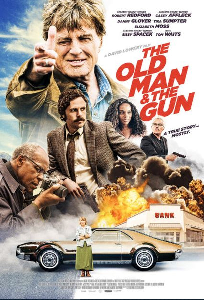 THE OLD MAN AND THE GUN HDX UV, GOOGLE PLAY DIGITAL COPY MOVIE CODE