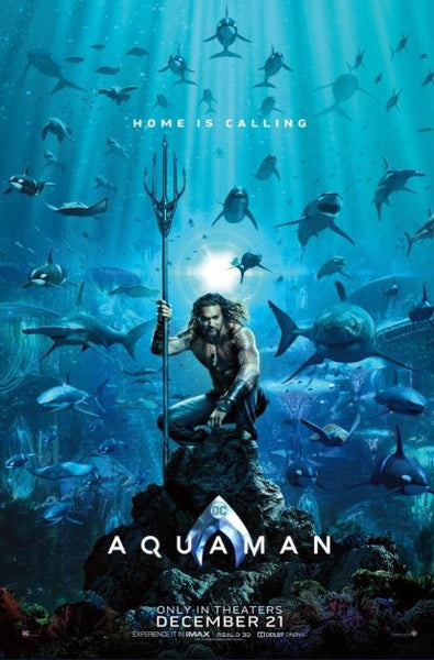 AQUAMAN HD GOOGLE PLAY DIGITAL COPY MOVIE CODE (DIRECT INTO GOOGLE PLAY) CANADA