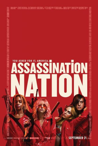 ASSASSINATION NATION HD iTunes DIGITAL COPY MOVIE CODE
